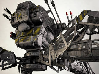 Mobile Infantry Recon Mech IV by 3DPORTFOLIO