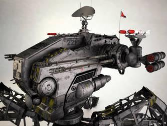 Mobile Infantry Recon Mech III by 3DPORTFOLIO