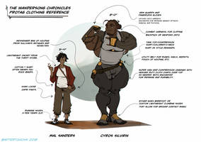 2018 Cyros and Mal Clothing Reference by Aftertouch