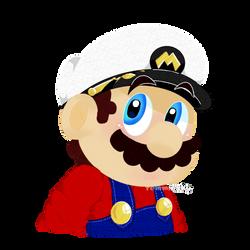 Just... Captain Mario by TemmieSkyie