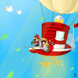 Mario's Odyssey by TemmieSkyie
