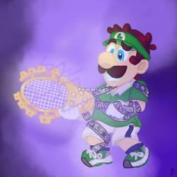 Dark Luigi by TemmieSkyie