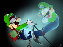 Luigi's Death by TemmieSkyie