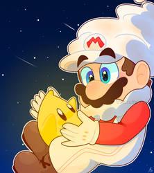Cloud Mario by TemmieSkyie