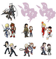 Game Heroes pack 12: Couple by Fandias