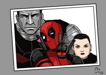 Deadpool Selfie by Fandias