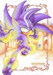 Darkspinnes Sonic by Pichu-Chan