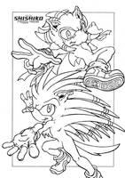 commission: Saffron and Arrow by Pichu-Chan