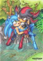 Gift: Deep jungle love by Pichu-Chan