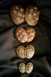 Hedeby Tortoise Brooches by UEdkaFShopie