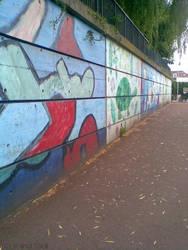 Mur Saint Denis, Dreux by WahidSaidi