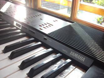 Yamaha E-Piano by WahidSaidi