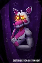 Sister Location: Custom Night - Funtime Foxy by PinkyPills