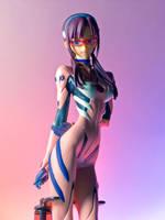 Mari Makinami Illustrious by DarkainMX