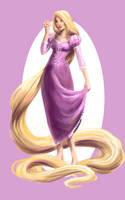 Rapunzel by JillianRK