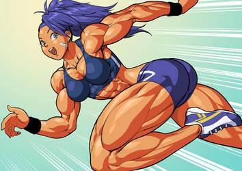 Captain Mizuki(One Punch Man) by Pokkuti