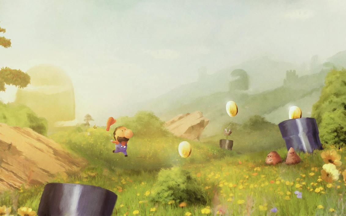 Mario World by Orioto