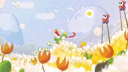 Yoshi's Playground by Orioto