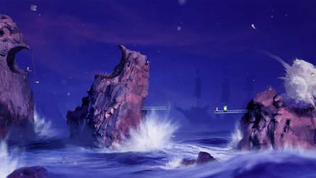 Sea Battlegound by Orioto