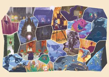 FFVI fresco part 2! by Orioto