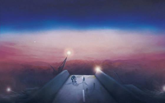 Leaving Midgar by Orioto