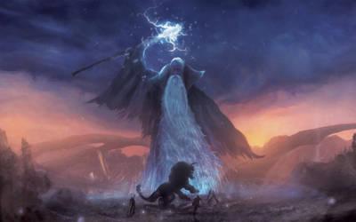 Thunder God by Orioto