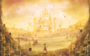 Golden Hyrule by Orioto