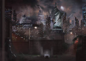 Liberty Island 2052 by Orioto