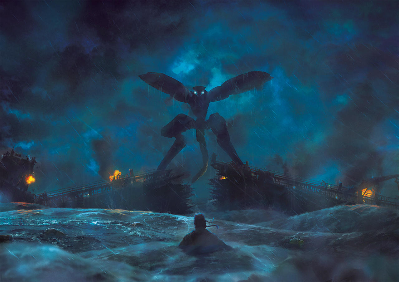 The Tanker Incident by Orioto