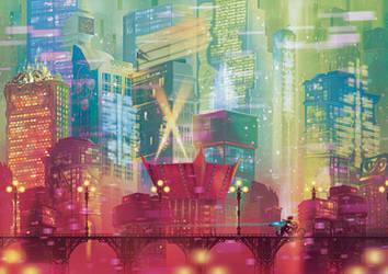Silicon City by Orioto