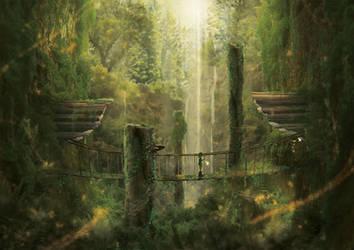 Leaving Kokiri by Orioto