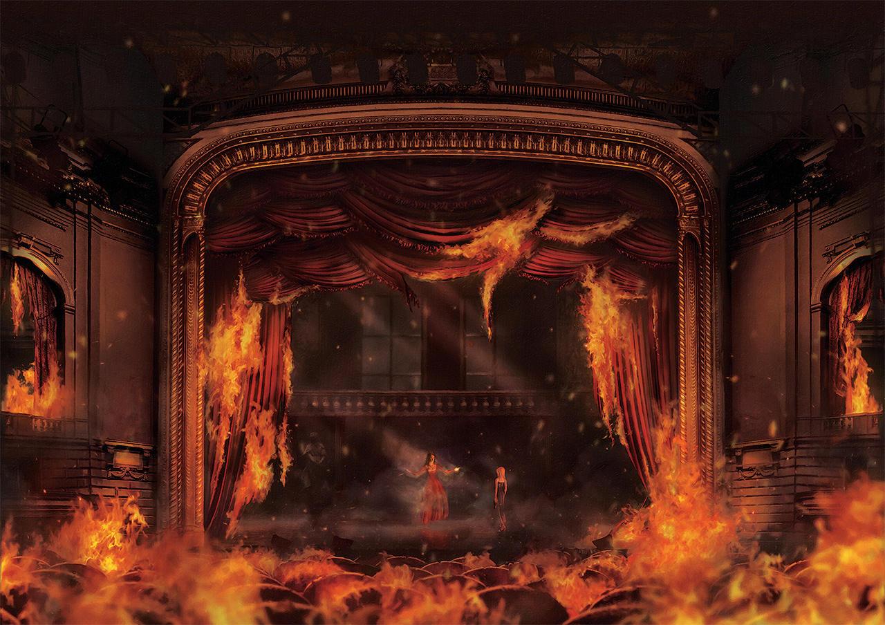 Opera In Fire by Orioto