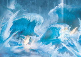 Snow and Serah by Orioto