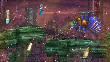 Neo16BIT - Megaman X by Orioto