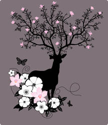 Tree Stag by shortass205