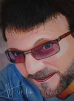 Steve Blum - oil pastel by MNS-Prime-21
