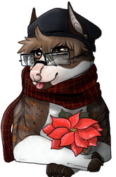 Caroline-giftfromGrinch by Bear-Drool