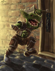 Goblin Butcher by chillier17