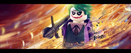 Lego Joker signature by PiP3R-CZ
