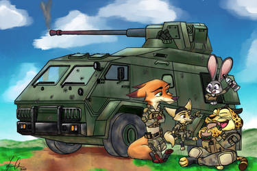 Wartime Picnic by Viperwolf113