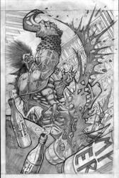 lobo cover pencils by VASS-comics