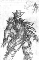 Outer-west collab-pencils by VASS-comics