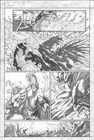 Red vs Green vs Lobo pg6 by VASS-comics