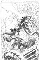 Murderthane vs Medusa pg 10 by VASS-comics