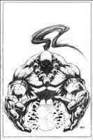 Jinnrise#1 cover pencils by VASS-comics
