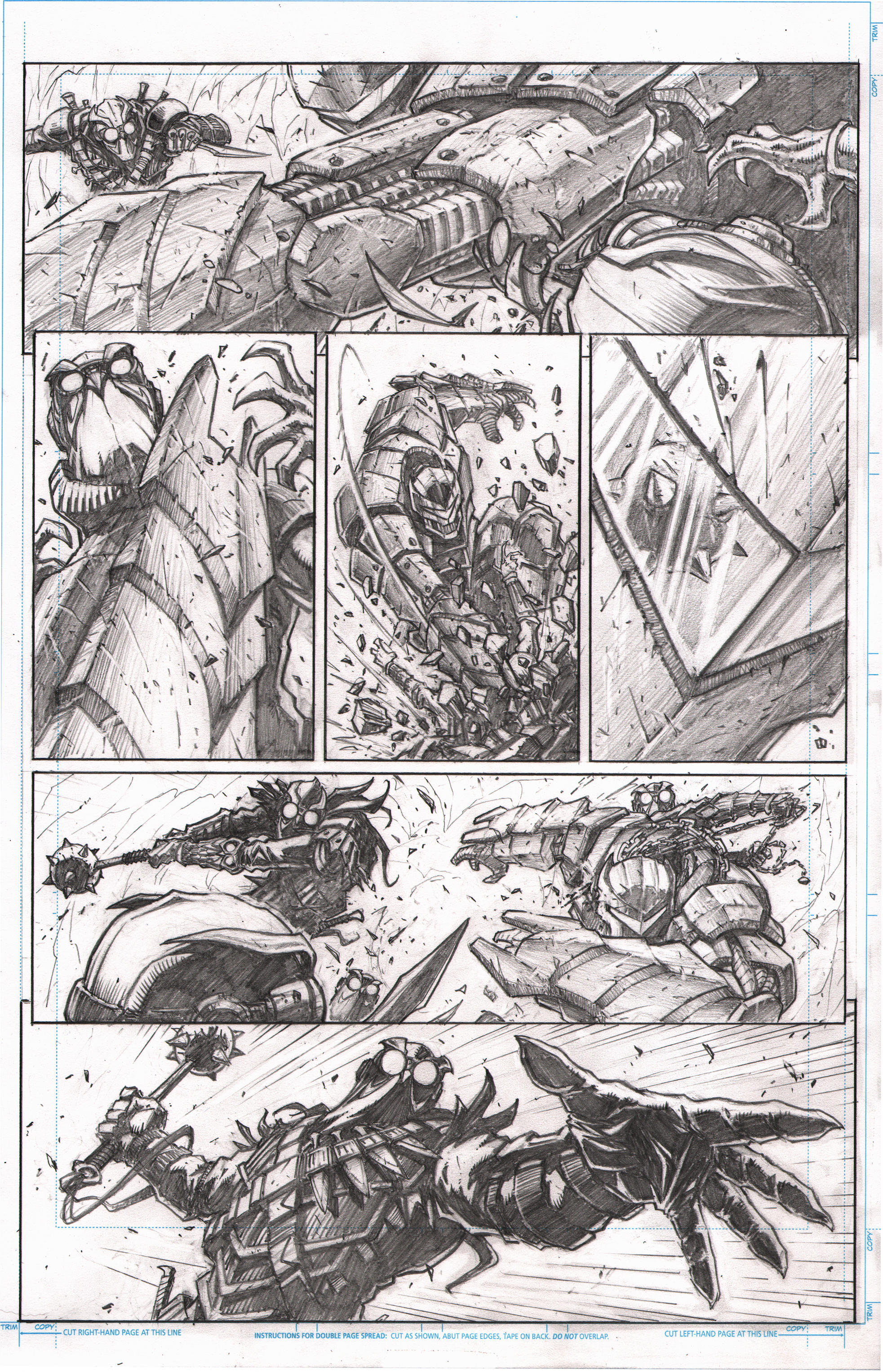 Batman 9-pg1 sample by VASS-comics
