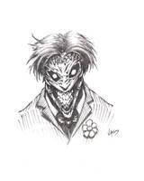 Joker sketch by VASS-comics
