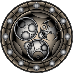 Circular Gallifreyan Clock by VASS-comics