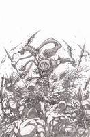 Elflord cover pencils low rez by VASS-comics