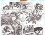 Elflord 0 pg 6-7 splash by VASS-comics
